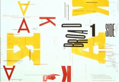Broadside No.1, 1988-9