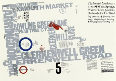 Broadside No.5, Clekenwell, 1992