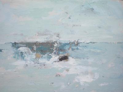 Ffiona Lewis Gust on Sea - Rock