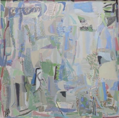 Oliver Soskice, Blue Painting Aerial Pathways