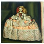 SUSAN LIGHT A DOLL'S HOUSE After Velasquez
