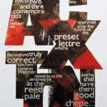 Caxton, 2015 - ALAN KITCHING: LETTERPRESS PRINTS