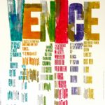 Merchant of Venice, 2016 - ALAN KITCHING: LETTERPRESS PRINTS