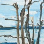 Ffiona Lewis, Through Spruce 4 - ESTUARY