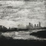 THE WINTER PRINT SHOW Kate Boxer, Jason Hicklin, Neil Bousfield, Mitsushige Nishiwaki, Clare Halsey Jason Hicklin, The Thames Greenwich