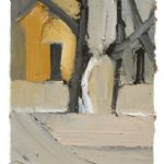 Farmhouse through Two Beech - FFIONA LEWIS