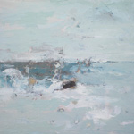 Ffiona Lewis, Gust on Sea - Rock - NORTH HOUSE GALLERY