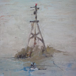 FFIONA LEWIS Paintings Port Perch II