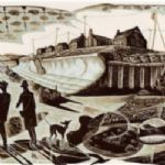 Neil Bousfield, Promenade - THE WINTER PRINT SHOW