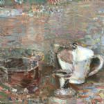 Still life bowl cup wine glass - OLIVER SOSKICE