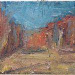 Thomas Robinson Recent Paintings Saxthorpe Bright Morning I