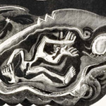 GERTRUDE HERMES Wood-engravings, Linocuts & Drawings Jonah in the Whale 1933