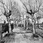 ALAN TURNBULL Etchings and Drawings Pollard Birches