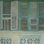 Shutters in Penang - FROM PORTUGAL TO PENANG
